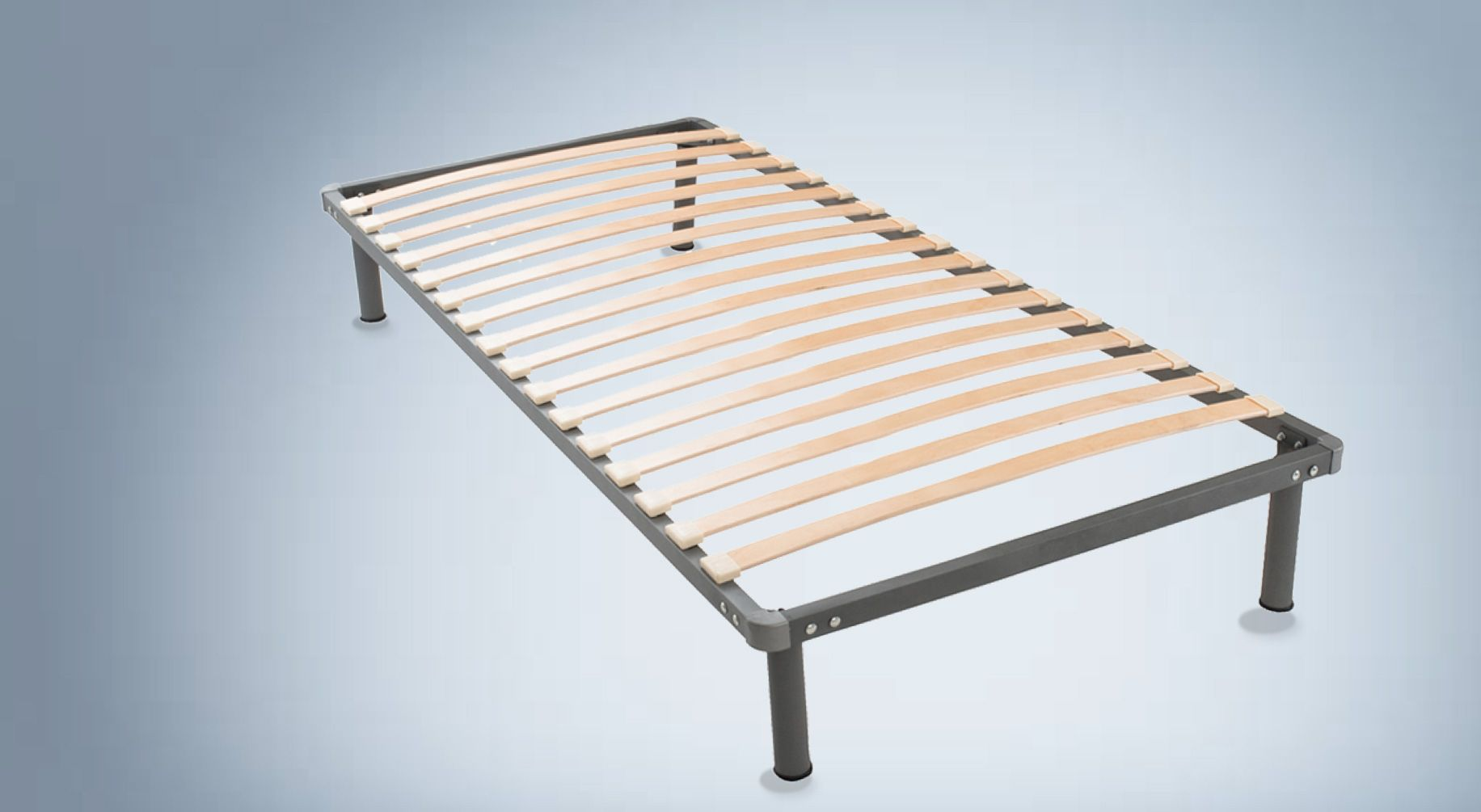 sommier en acier 80x190 ideal mobili. Black Bedroom Furniture Sets. Home Design Ideas