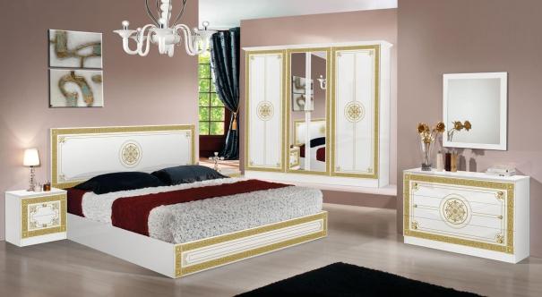 Chambre Luna Blanc Or