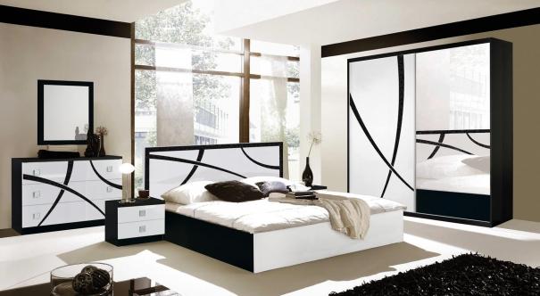 chambre-milano-coulissante-blanc-noir